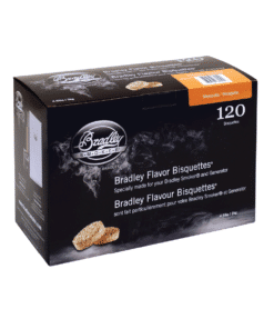 Bradley Smoker Wood Bisquettes, Mesquite Flavor, 120 Pack