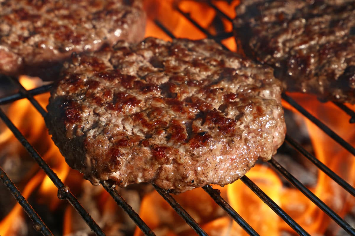 Smoked And Grilled Venison Burger Recipe