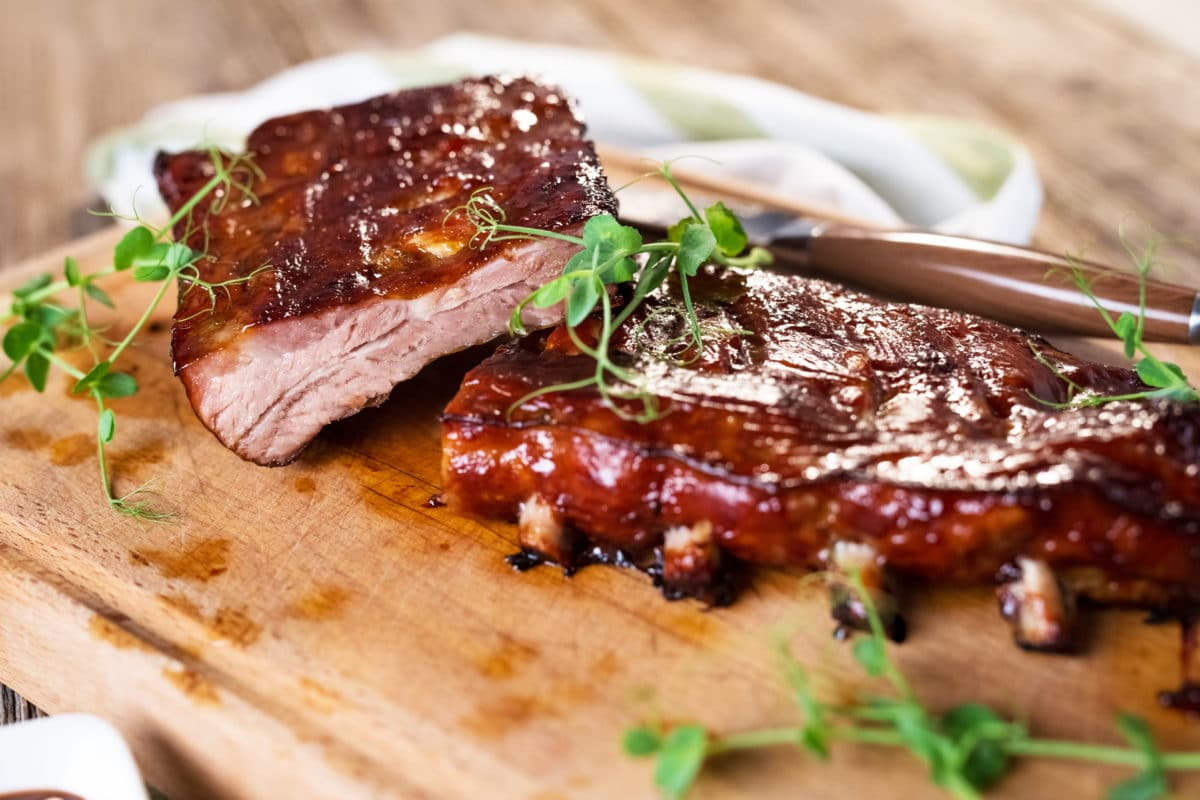 Cold Smoked Braised Baby Back Ribs Recipe