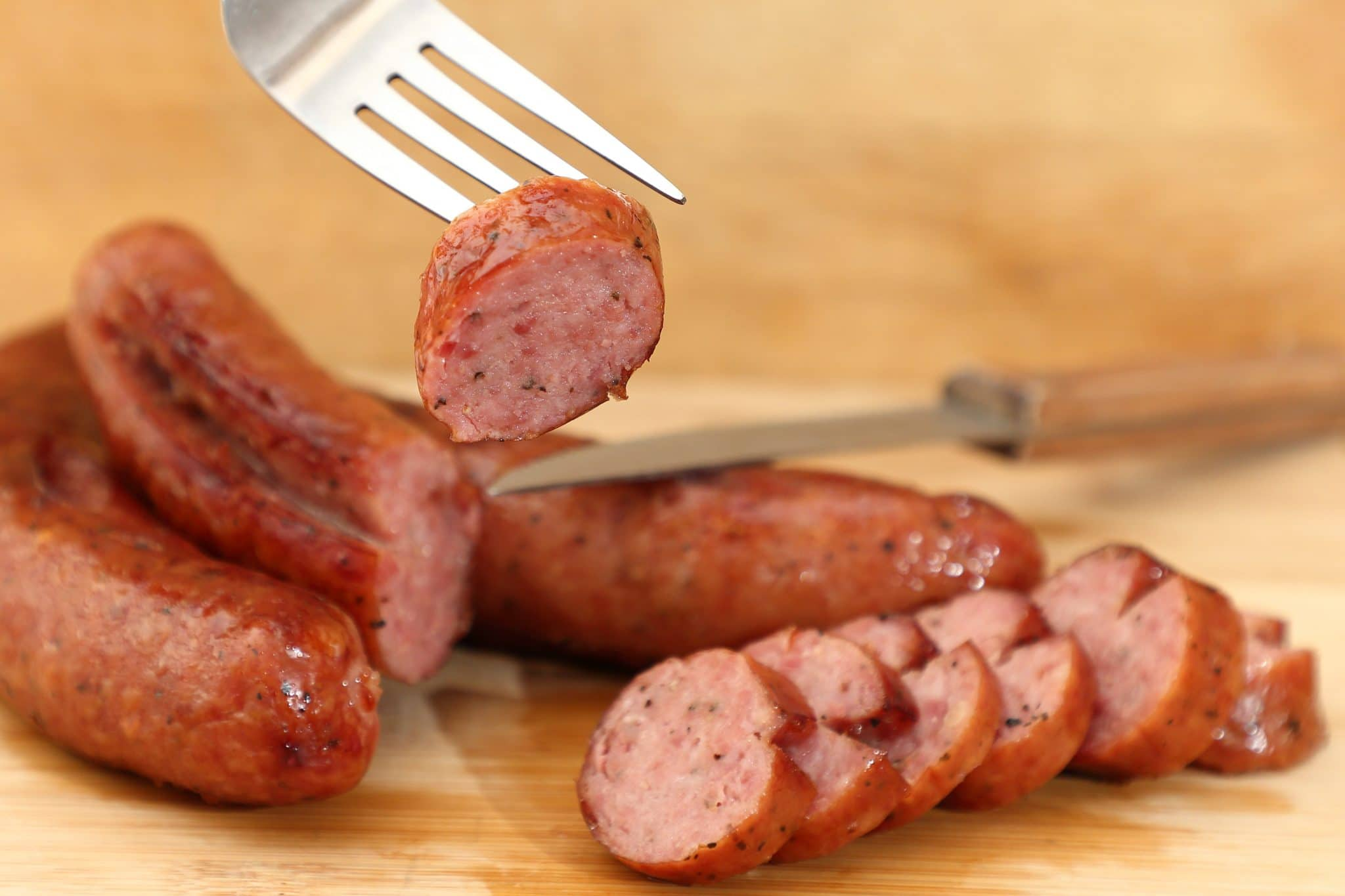 Smoked Maple German Sausage Recipe